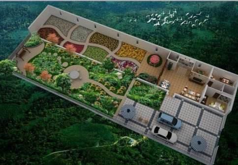 解决物流快递的通道,新型家庭农场是未来潮流!